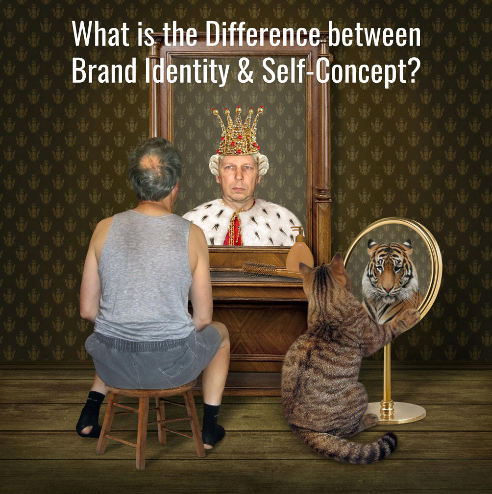 What is the Difference between Brand Identity & Self Concept?